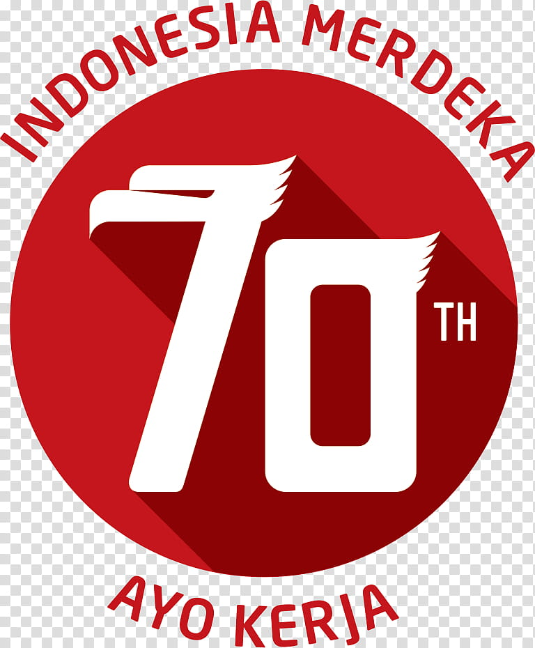 Logo HUT RI .psd, th Indonesia Merdeka logo transparent.