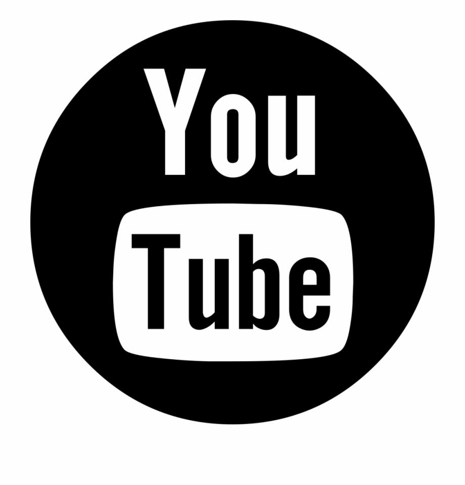 Png File Youtube Logo Black.