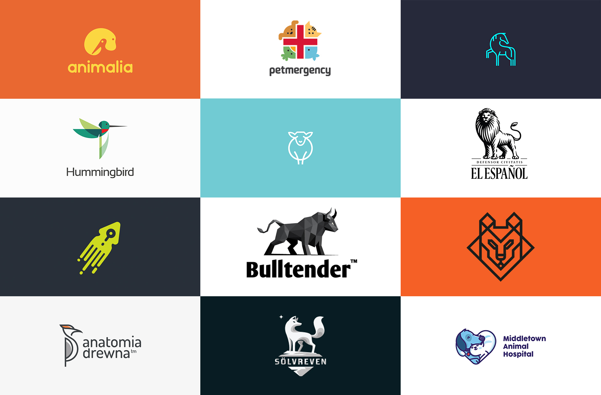 48 of the most cute animal logo designs for your inspiration.