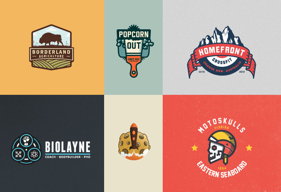 30 Great Emblem Logo Design Inspiration.
