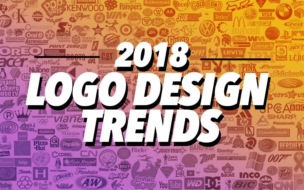 2018 Top Best Logo Designs + Trends & Inspirational Showcase.