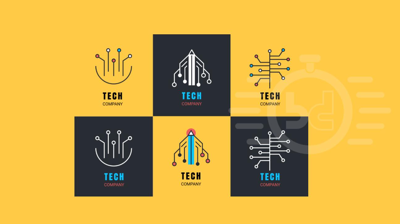 40 Best Tech Logo Inspirations 2019.