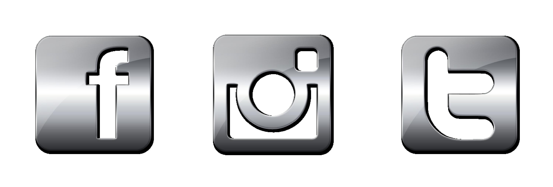 Facebook Instagram Twitter Icons Vector at GetDrawings.com.
