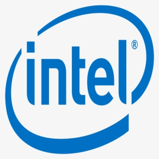 Free Intel Logo Clip Art with No Background.