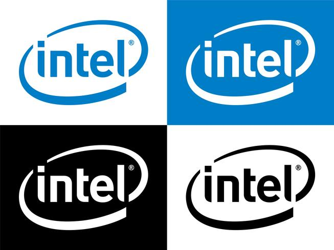 Intel Logo Vector.