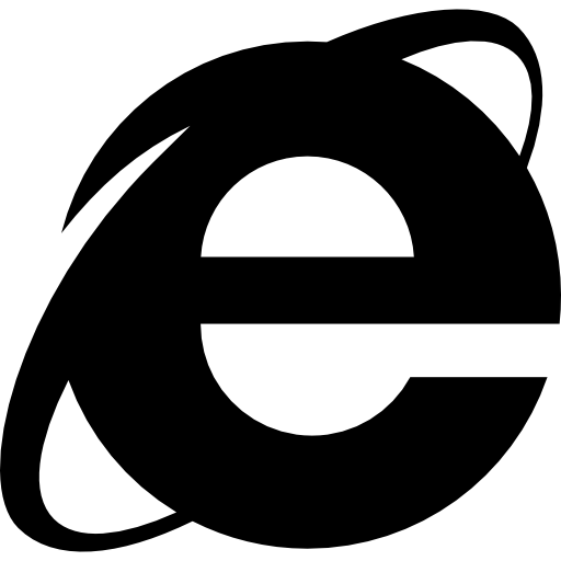 Internet explorer logo Icons.