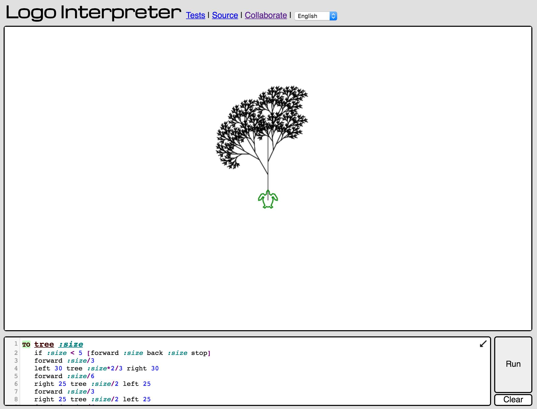 CodeBC Logo Interpreter.