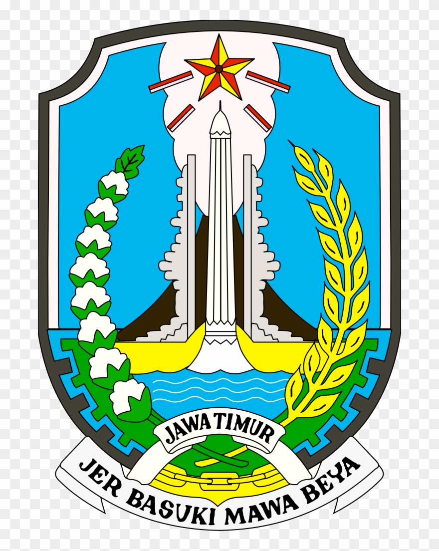 Coat Of Arms Of East Java.