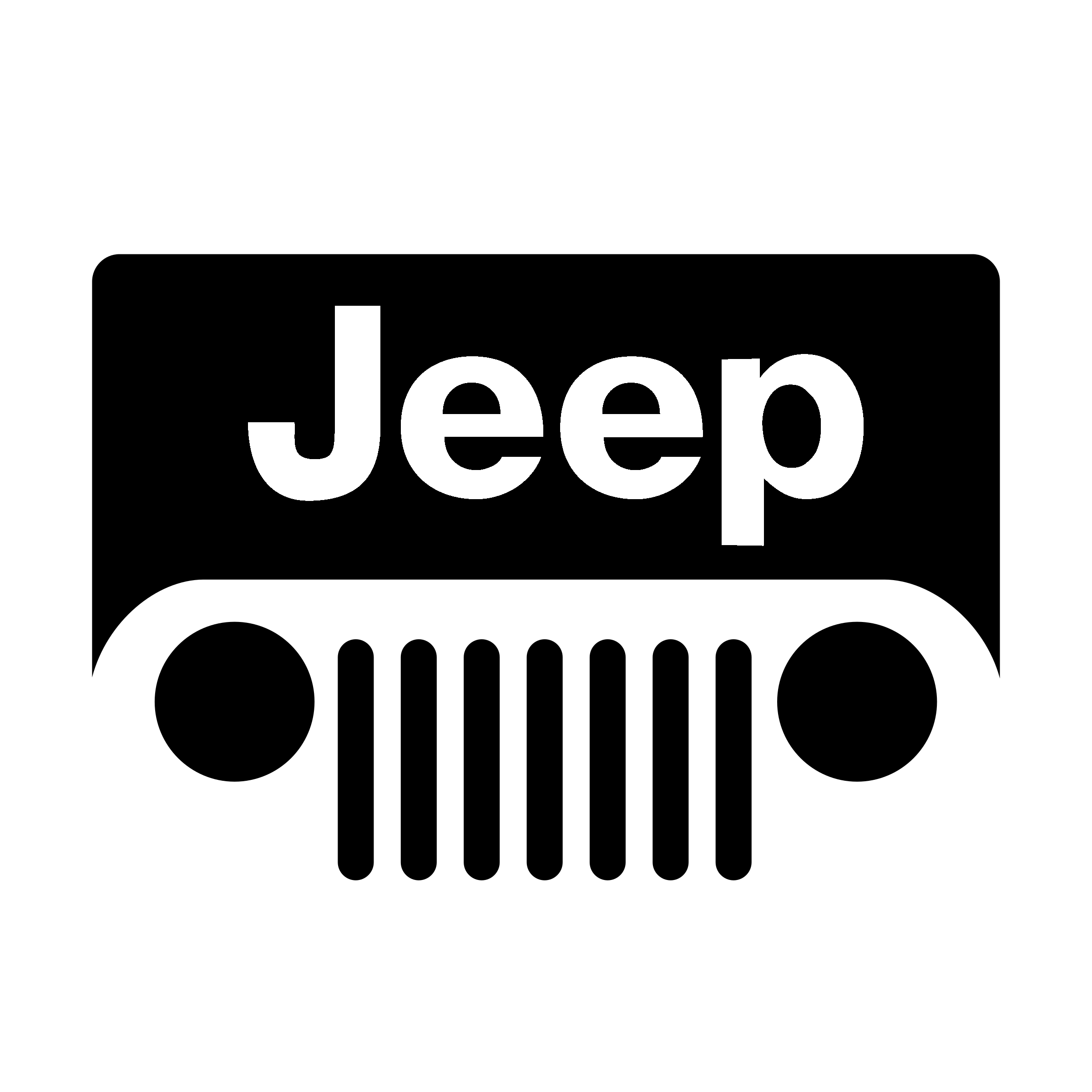 Jeep Logo PNG Transparent & SVG Vector.