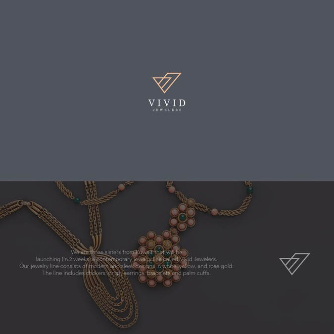 Jewelry Logo for Modern Kuwaiti Brand.