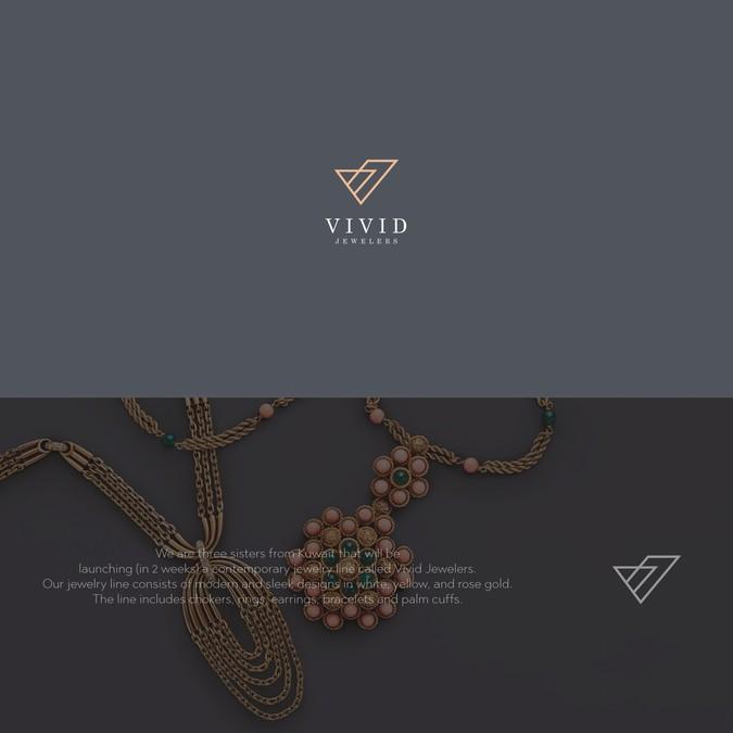 Jewelry Logo for Modern Kuwaiti Brand.
