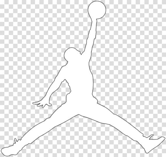 Air Jordan logo illustration, Jumpman Air Jordan Logo Nike.