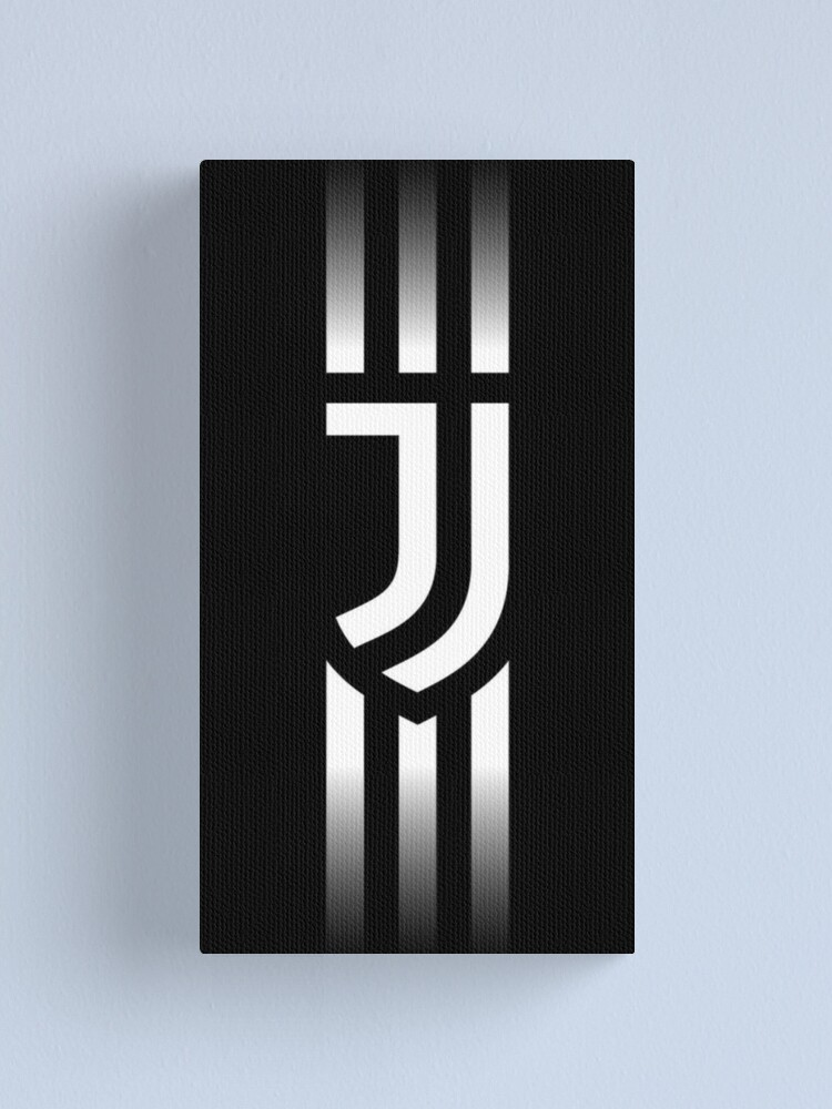 Juventus logo, fading stripes (HD).