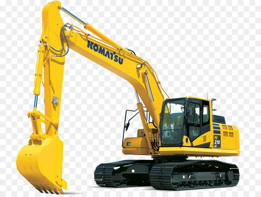 komatsu excavator clipart Komatsu Limited Excavator Heavy.