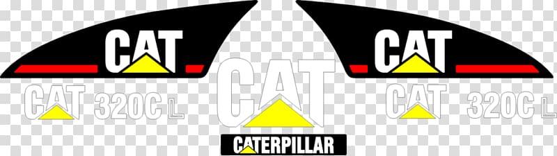 Caterpillar Inc. Komatsu Limited Logo Decal Sticker.
