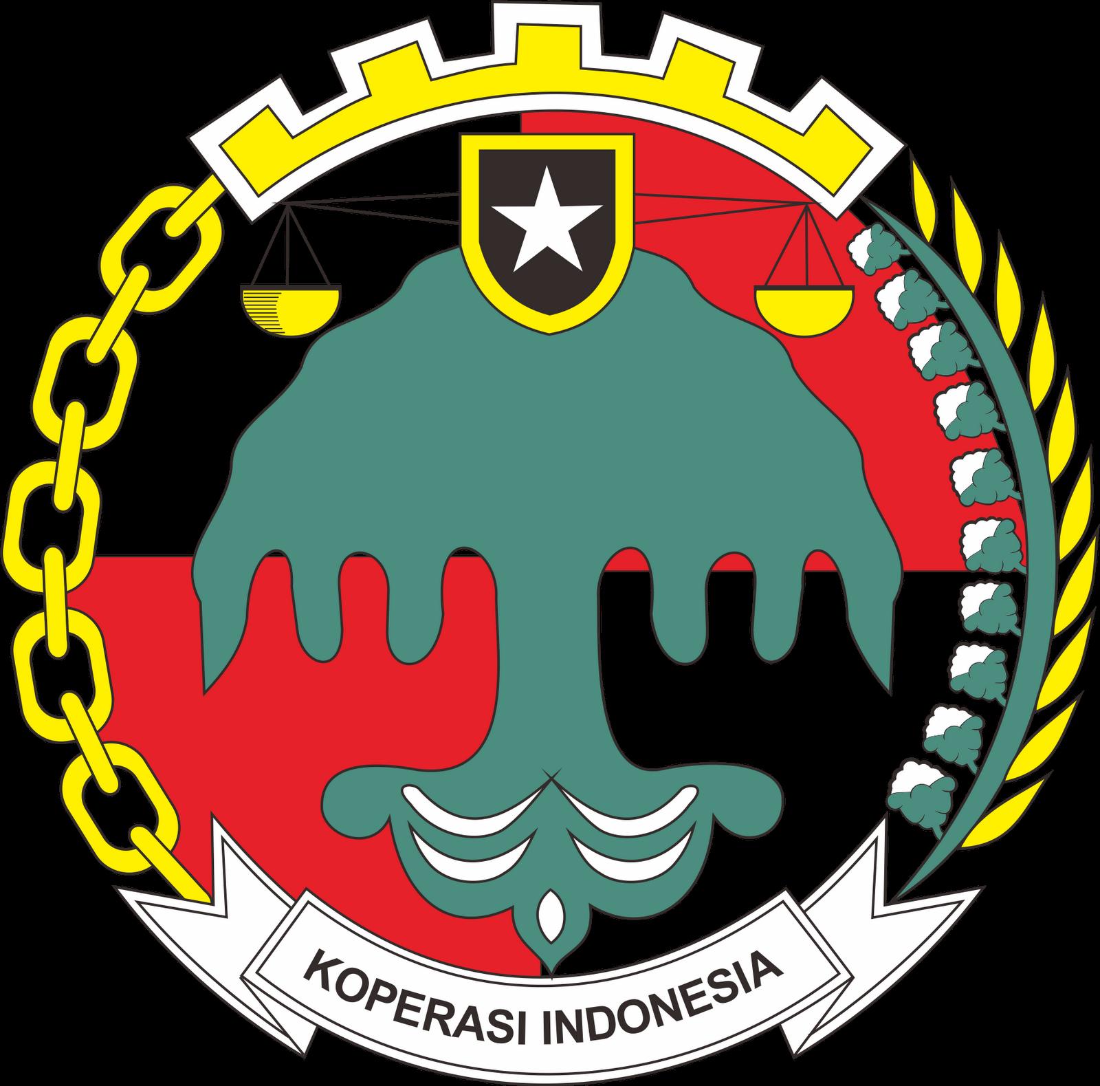 Koperasi PNG, Indonesia Logo, Lambang Koperasi, Koperasi S.