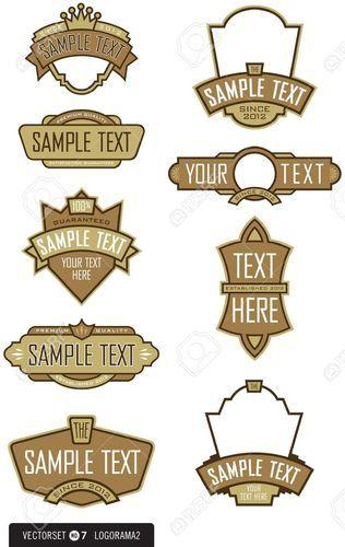 Logo Labels.