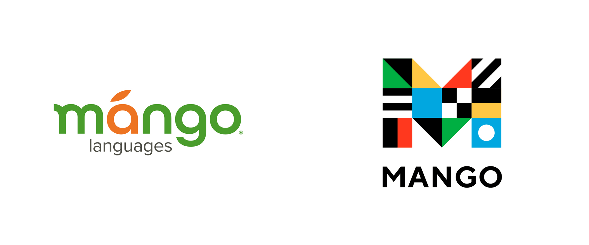 Brand New: New Logo and Identity for Mango Languages by The.