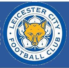 Leicester City football club logo.