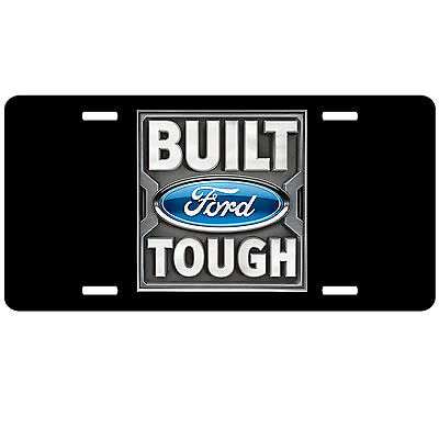 Ford Logo License Plate.