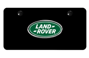 License Plate, Land Rover Logo.