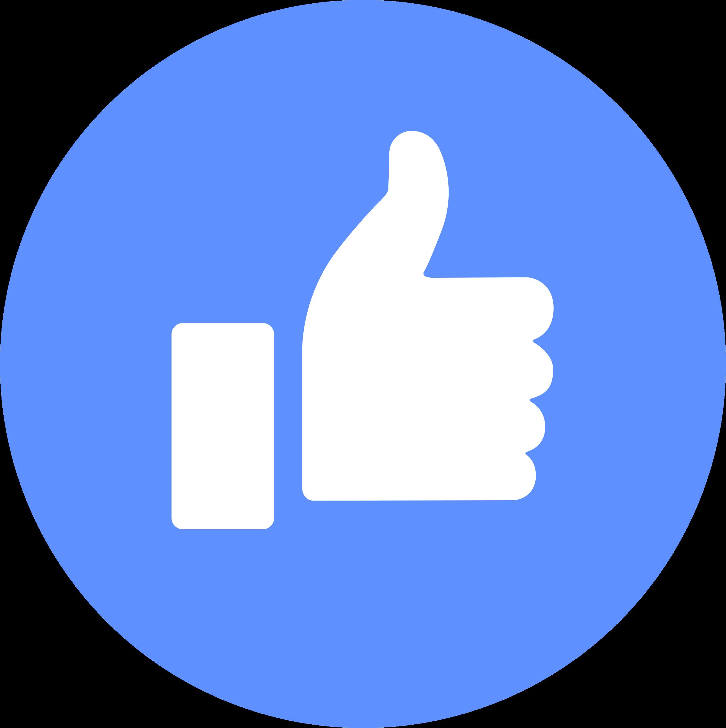 Facebook Like Logo PNG Transparent & SVG Vector.