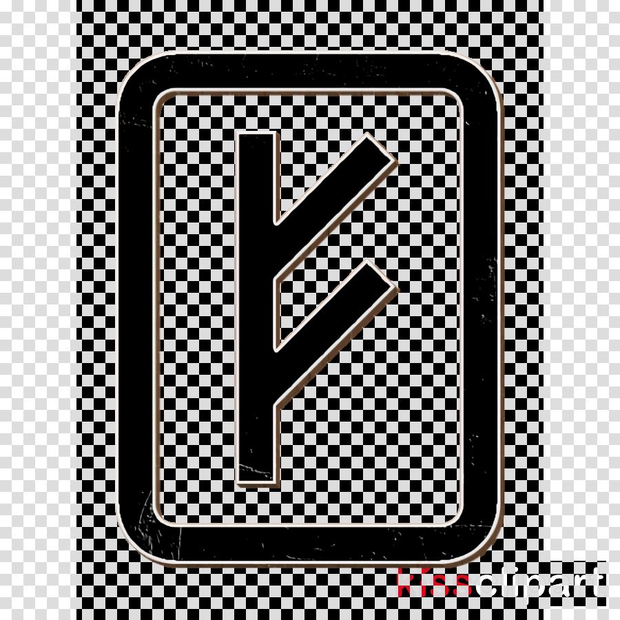 Rune icon Esoteric icon clipart.