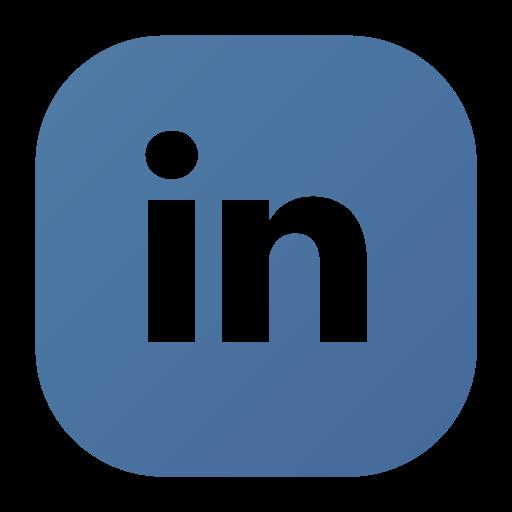 Linked linkedin logo social icon.