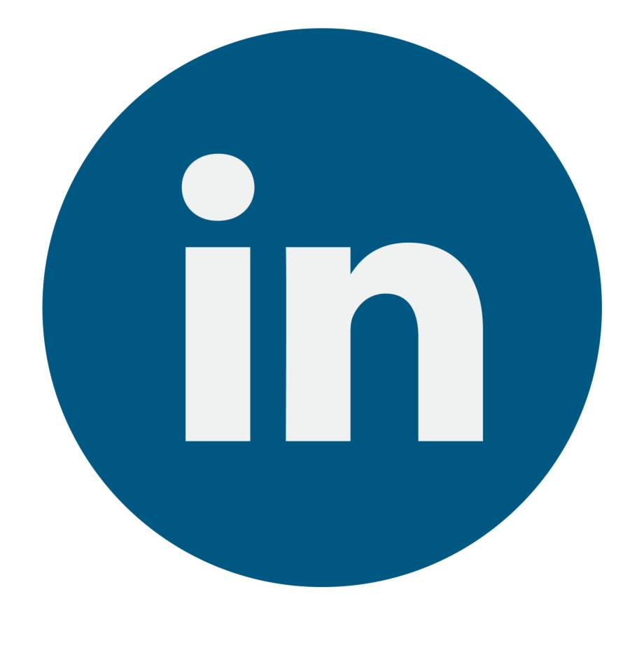 Linkedin Icon Vector Png Linked In Logo Rund.