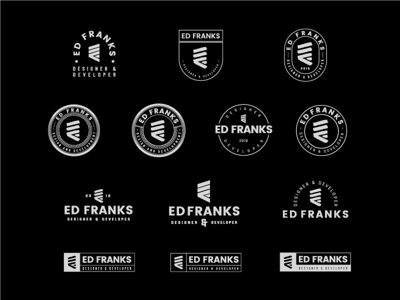 Logo Lockups by Ed Franks on Dribbble.