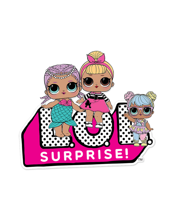 L.O.L. Surprise! logo PNG.