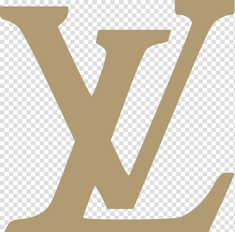 Brown Louis Vuitton logo, Louis Vuitton Logo Luxury Bag.