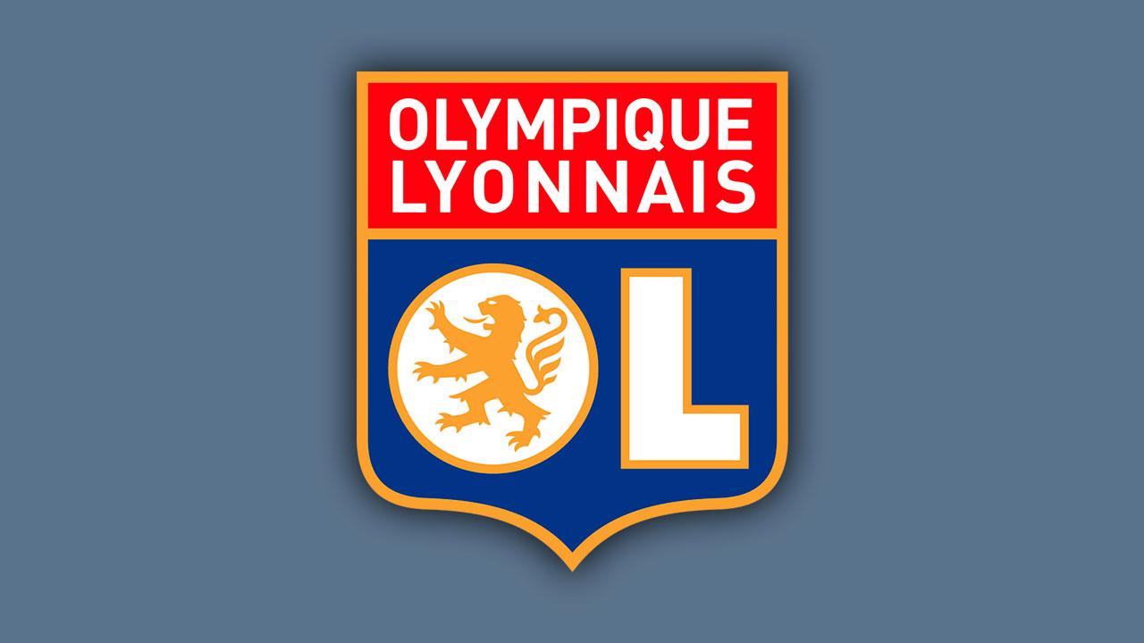 Logo Lyon Olympique Lyonnais Brasão em PNG.