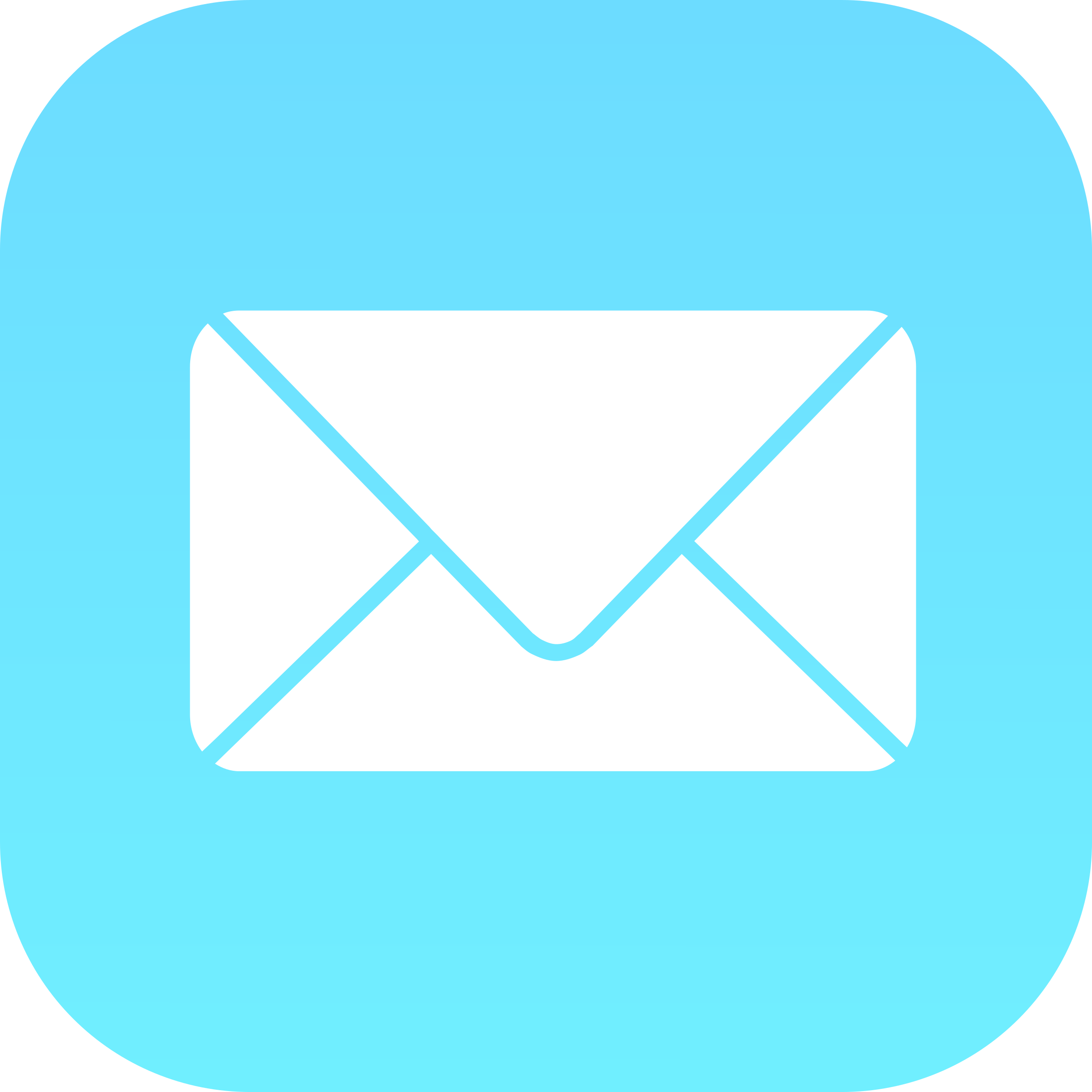 Mail iOS Logo PNG Transparent & SVG Vector.