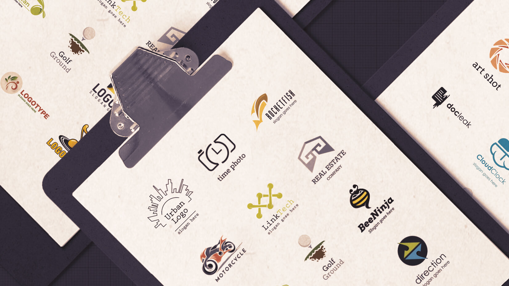 Free Logo Design Templates: 100 Choices For Your Company.
