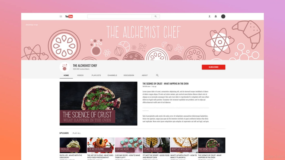 Your Guide To Creating YouTube Channel Art.
