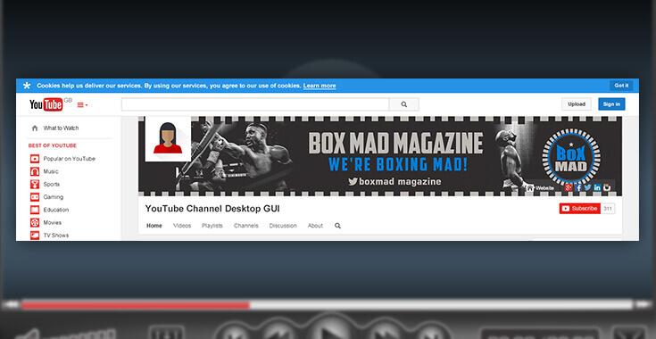 YouTube Channel Art Design, Youtube Banner Design.