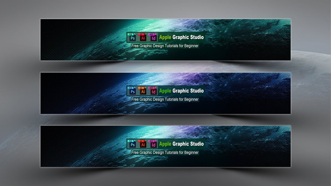 How to Design a Youtube Channel Art.