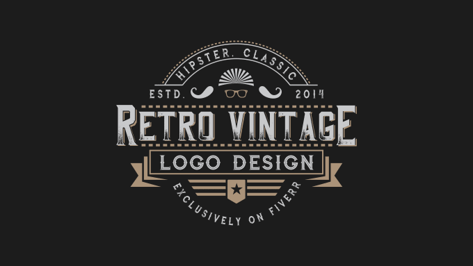 retro logo maker.