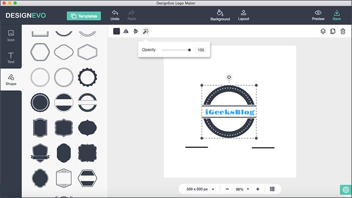 DesignEvo Logo Maker App for Mac: Creating Awesome Logos.