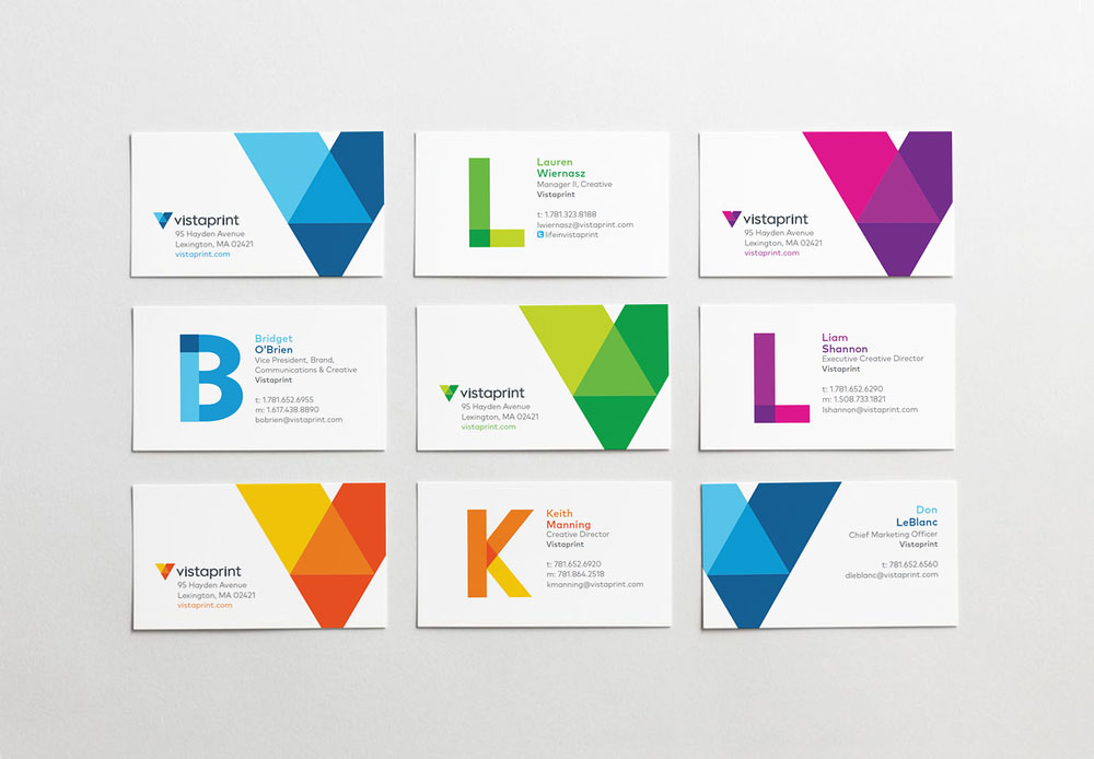 Brand New: New Logo and Identity for Vistaprint by Tank.
