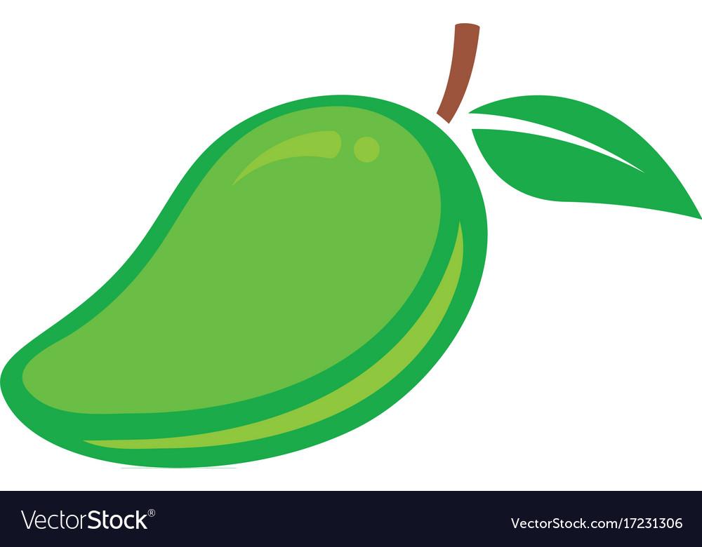 Mango in flat style mango logo mango icon.