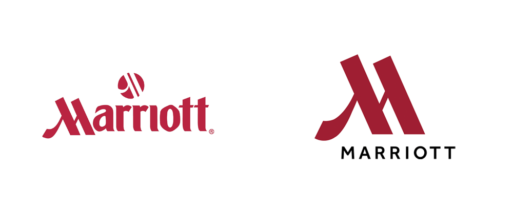 Brand New: New Logo and Identity for Marriott Hotels by Grey NY.