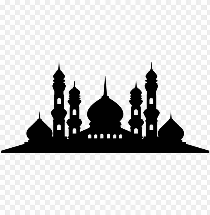 logo masjid vector PNG image with transparent background.