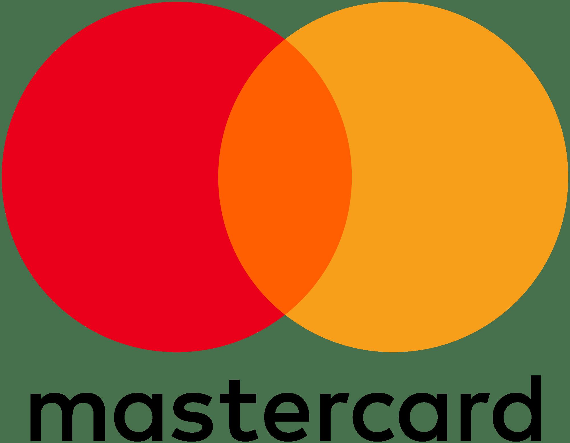 Mastercard Logo transparent PNG.