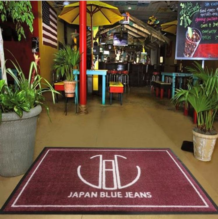 4\' x 8\' Nylon Full Color Floor Mat Indoor/Outdoor Logo Mat Free  Setup/Artwork.
