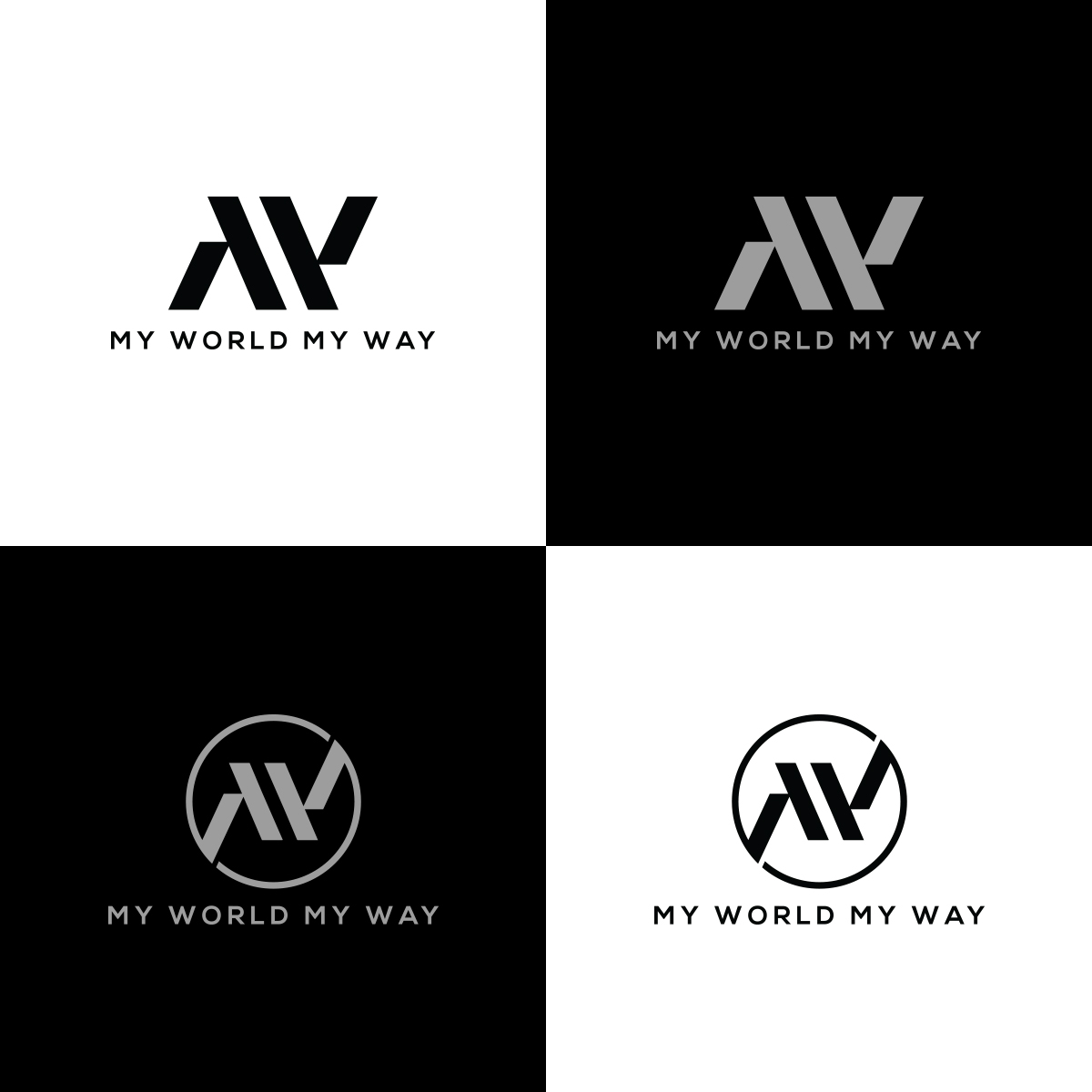 Conservative, Modern, Youtube Logo Design for My World My.