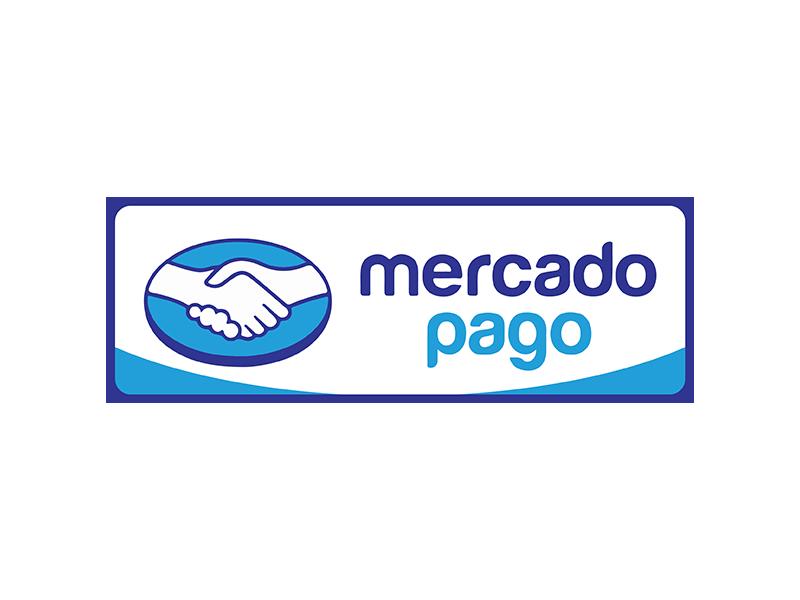 mercadopago badge by Julián Clatro on Dribbble.