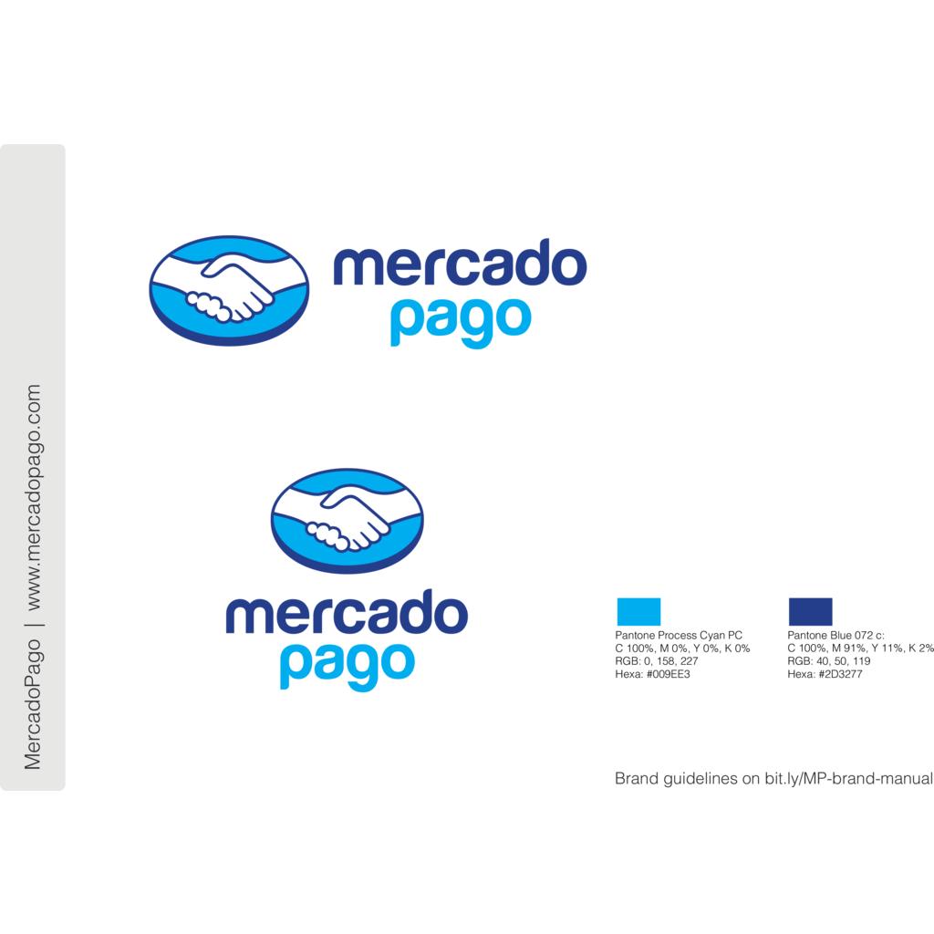 MercadoPago logo, Vector Logo of MercadoPago brand free.