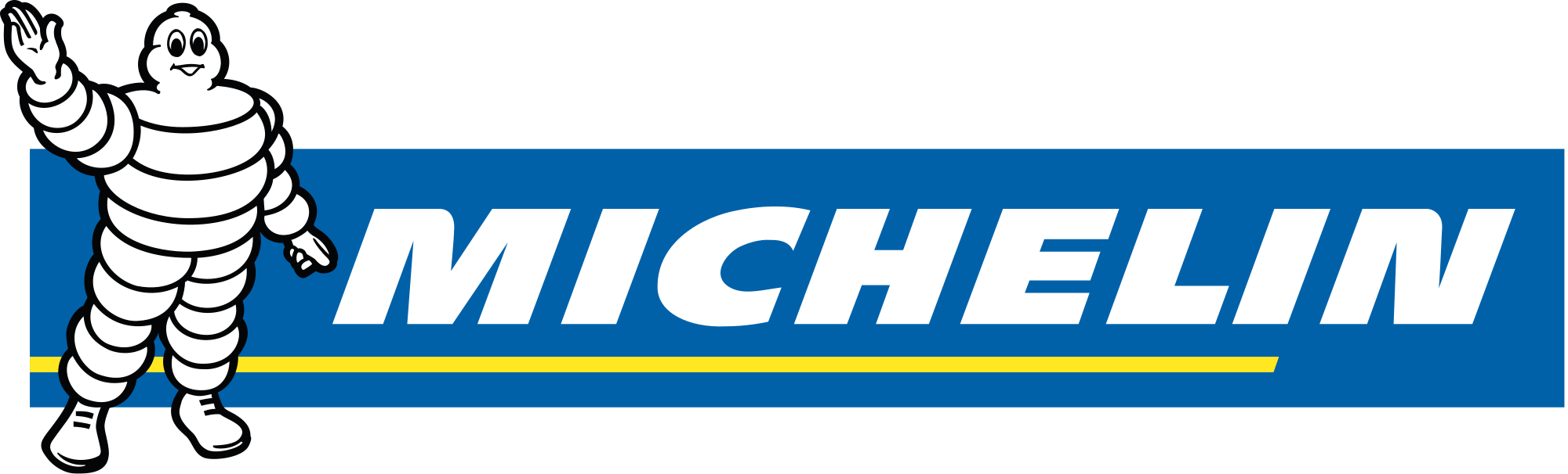 Michelin Brand Logo transparent PNG.
